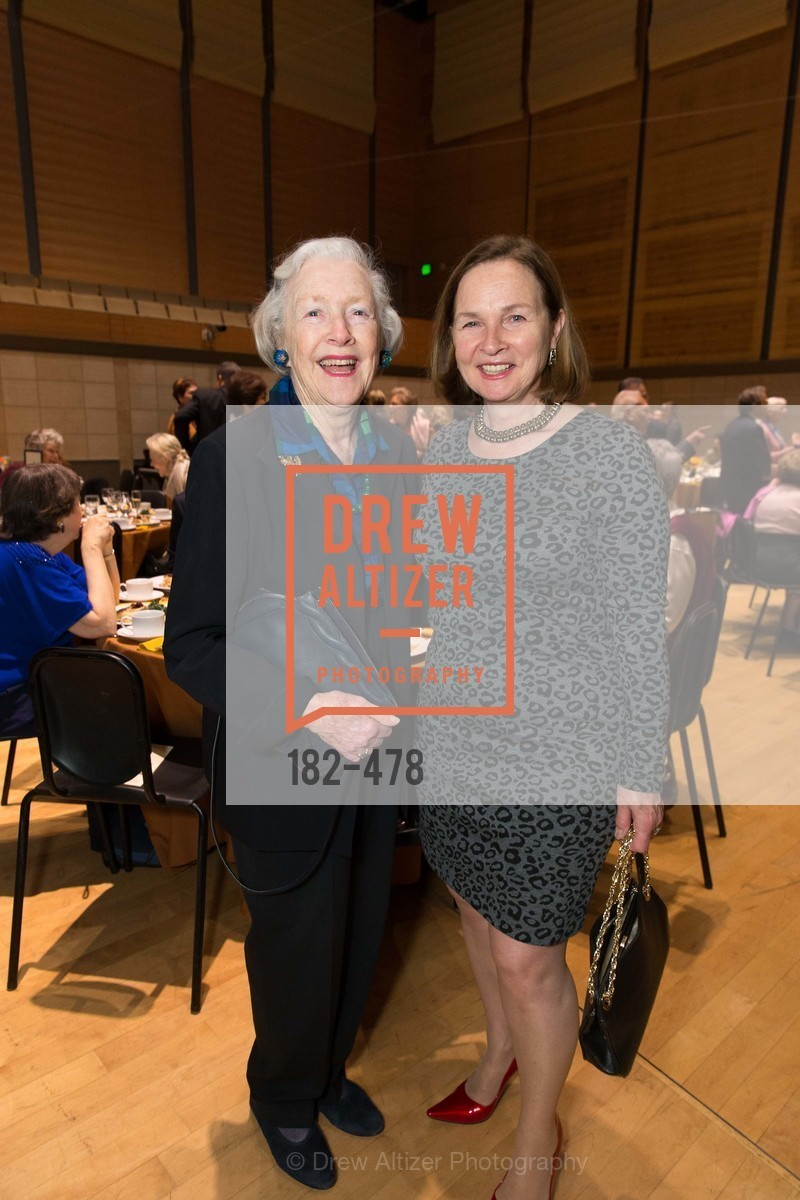 Marianne Peterson, Marie-Jose Baum, SAN FRANCISCO CONSERVATORY OF MUSIC'S 2014 Fanfare Luncheon, US. Conservatory of Music, January 24th, 2014,Drew Altizer, Drew Altizer Photography, full-service agency, private events, San Francisco photographer, photographer california