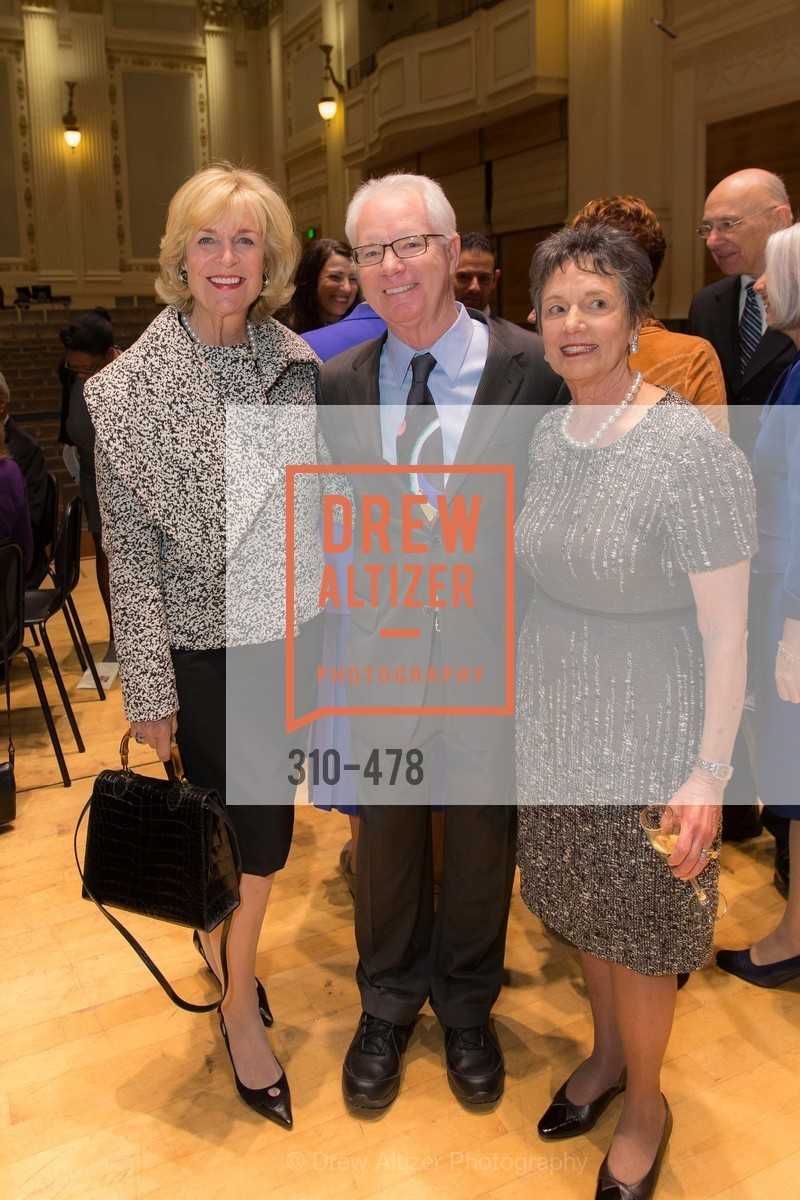 Jan Buckley, Colin Murdoch, Carol Doll, SAN FRANCISCO CONSERVATORY OF MUSIC'S 2014 Fanfare Luncheon, US. Conservatory of Music, January 24th, 2014,Drew Altizer, Drew Altizer Photography, full-service agency, private events, San Francisco photographer, photographer california