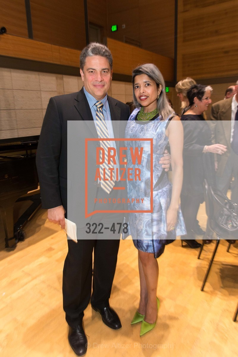 David Stull, Deepa Pakianathan, SAN FRANCISCO CONSERVATORY OF MUSIC'S 2014 Fanfare Luncheon, US. Conservatory of Music, January 24th, 2014,Drew Altizer, Drew Altizer Photography, full-service agency, private events, San Francisco photographer, photographer california