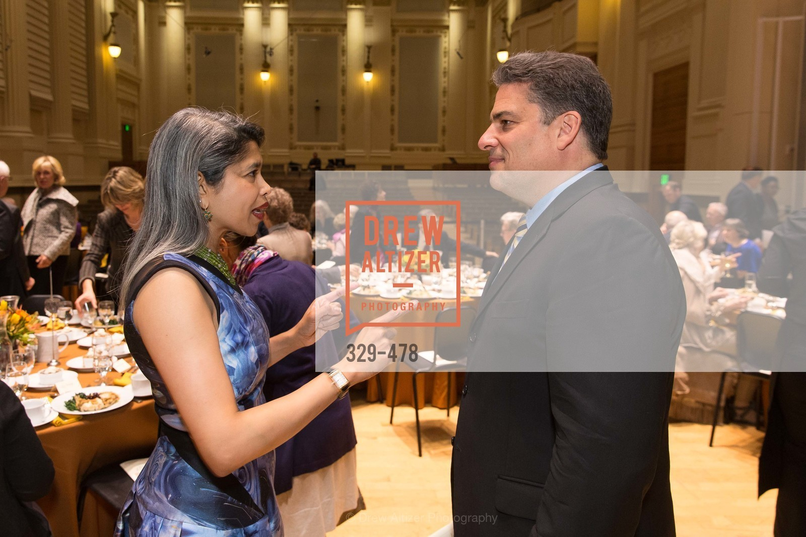 Deepa Pakianathan, David Stull, SAN FRANCISCO CONSERVATORY OF MUSIC'S 2014 Fanfare Luncheon, US. Conservatory of Music, January 24th, 2014,Drew Altizer, Drew Altizer Photography, full-service agency, private events, San Francisco photographer, photographer california