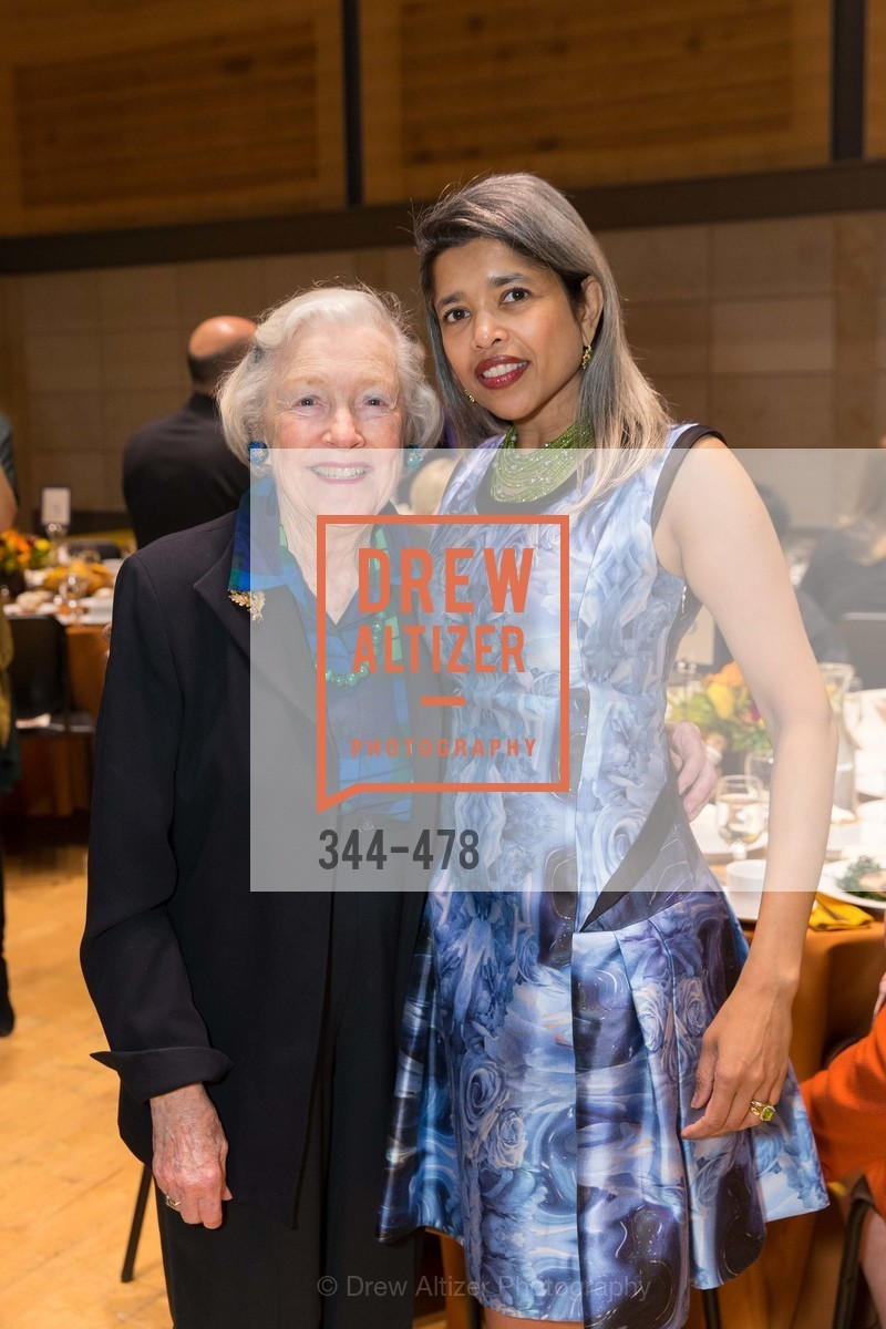 Marianne Peterson, Deepa Pakianathan, SAN FRANCISCO CONSERVATORY OF MUSIC'S 2014 Fanfare Luncheon, US. Conservatory of Music, January 24th, 2014,Drew Altizer, Drew Altizer Photography, full-service agency, private events, San Francisco photographer, photographer california