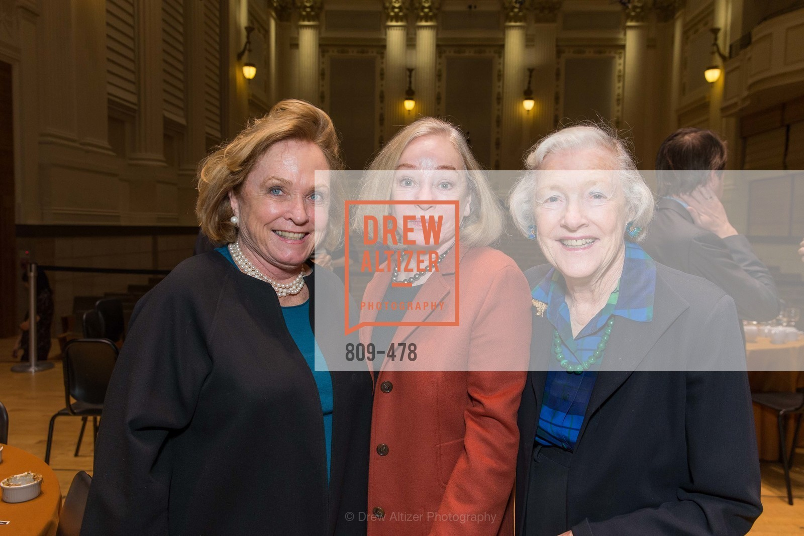 Maura Morey, Gretchen Kimball, Marianne Peterson, SAN FRANCISCO CONSERVATORY OF MUSIC'S 2014 Fanfare Luncheon, US. Conservatory of Music, January 24th, 2014,Drew Altizer, Drew Altizer Photography, full-service agency, private events, San Francisco photographer, photographer california