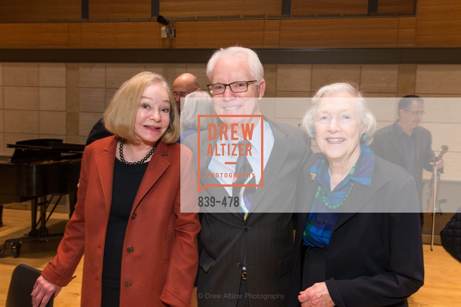 Gretchen Kimball, Colin Murdoch, Marianne Peterson, SAN FRANCISCO CONSERVATORY OF MUSIC'S 2014 Fanfare Luncheon, US. Conservatory of Music, January 24th, 2014,Drew Altizer, Drew Altizer Photography, full-service agency, private events, San Francisco photographer, photographer california