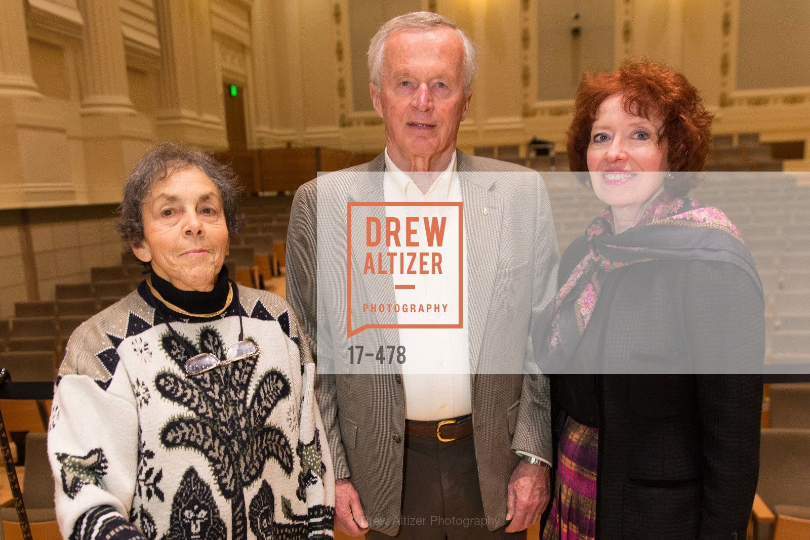 Vivienne Miller, DG Mitchell, Anne Knight, SAN FRANCISCO CONSERVATORY OF MUSIC'S 2014 Fanfare Luncheon, US. Conservatory of Music, January 24th, 2014,Drew Altizer, Drew Altizer Photography, full-service agency, private events, San Francisco photographer, photographer california