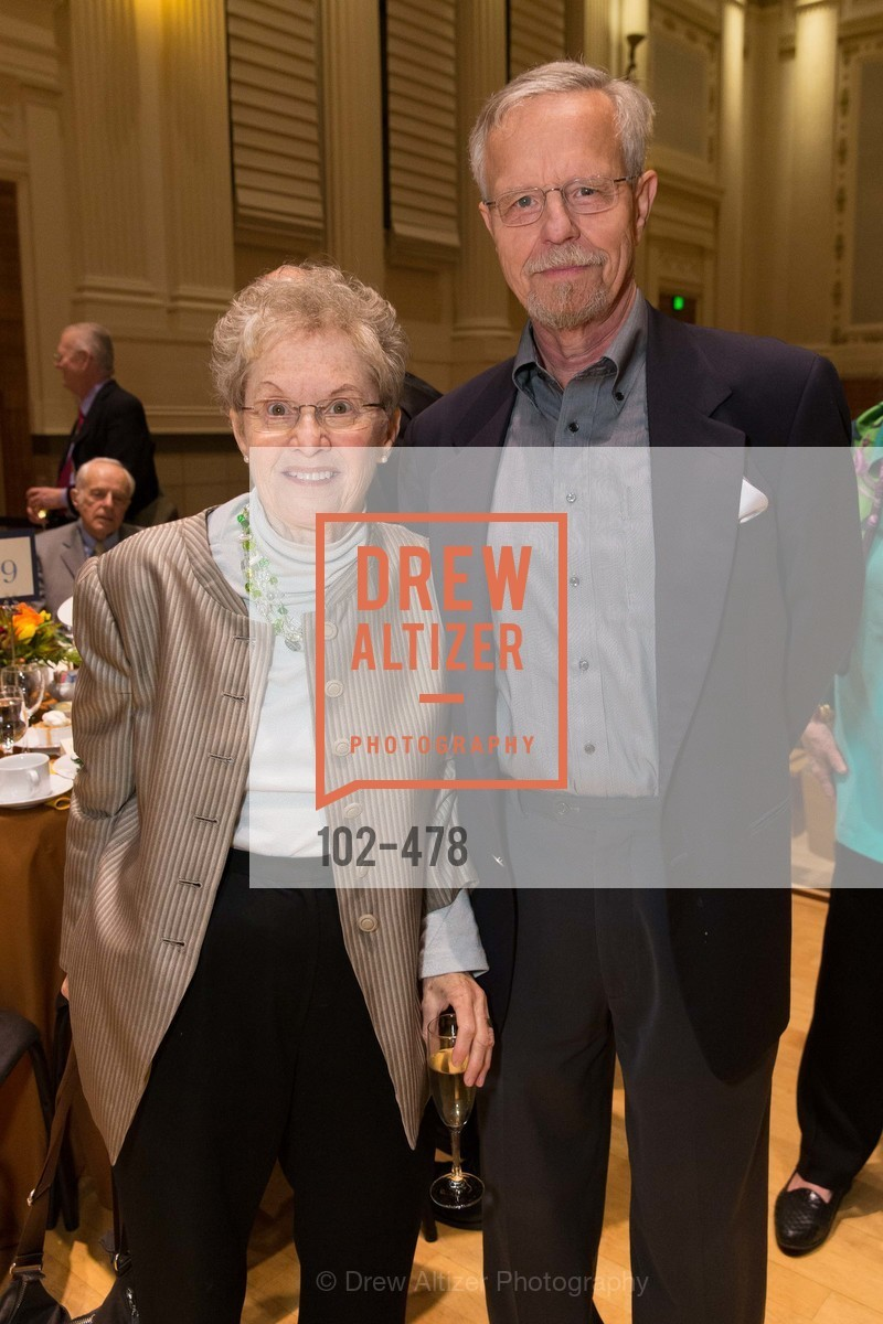 Judy Anderson, David Anderson, SAN FRANCISCO CONSERVATORY OF MUSIC'S 2014 Fanfare Luncheon, US. Conservatory of Music, January 24th, 2014,Drew Altizer, Drew Altizer Photography, full-service agency, private events, San Francisco photographer, photographer california