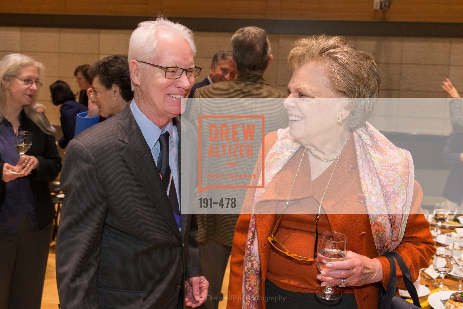 Colin Murdoch, Jane Bogart, SAN FRANCISCO CONSERVATORY OF MUSIC'S 2014 Fanfare Luncheon, US. Conservatory of Music, January 24th, 2014,Drew Altizer, Drew Altizer Photography, full-service agency, private events, San Francisco photographer, photographer california