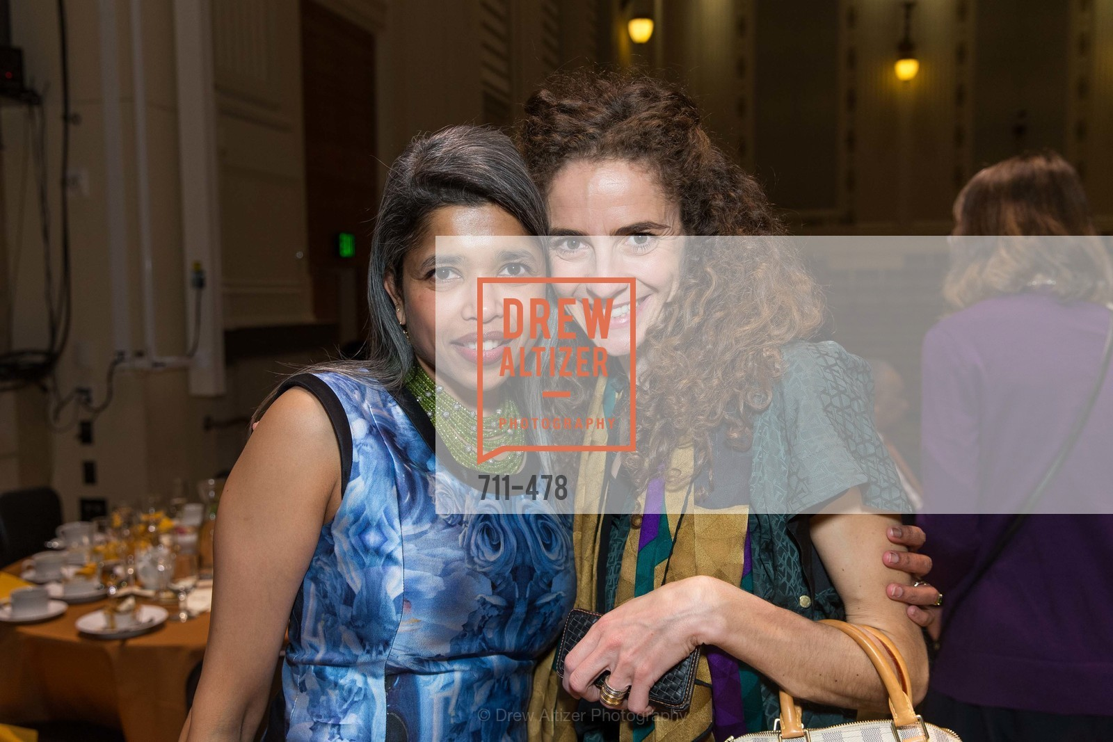 Deepa Pakianathan, Monica Savini, SAN FRANCISCO CONSERVATORY OF MUSIC'S 2014 Fanfare Luncheon, US. Conservatory of Music, January 24th, 2014,Drew Altizer, Drew Altizer Photography, full-service agency, private events, San Francisco photographer, photographer california