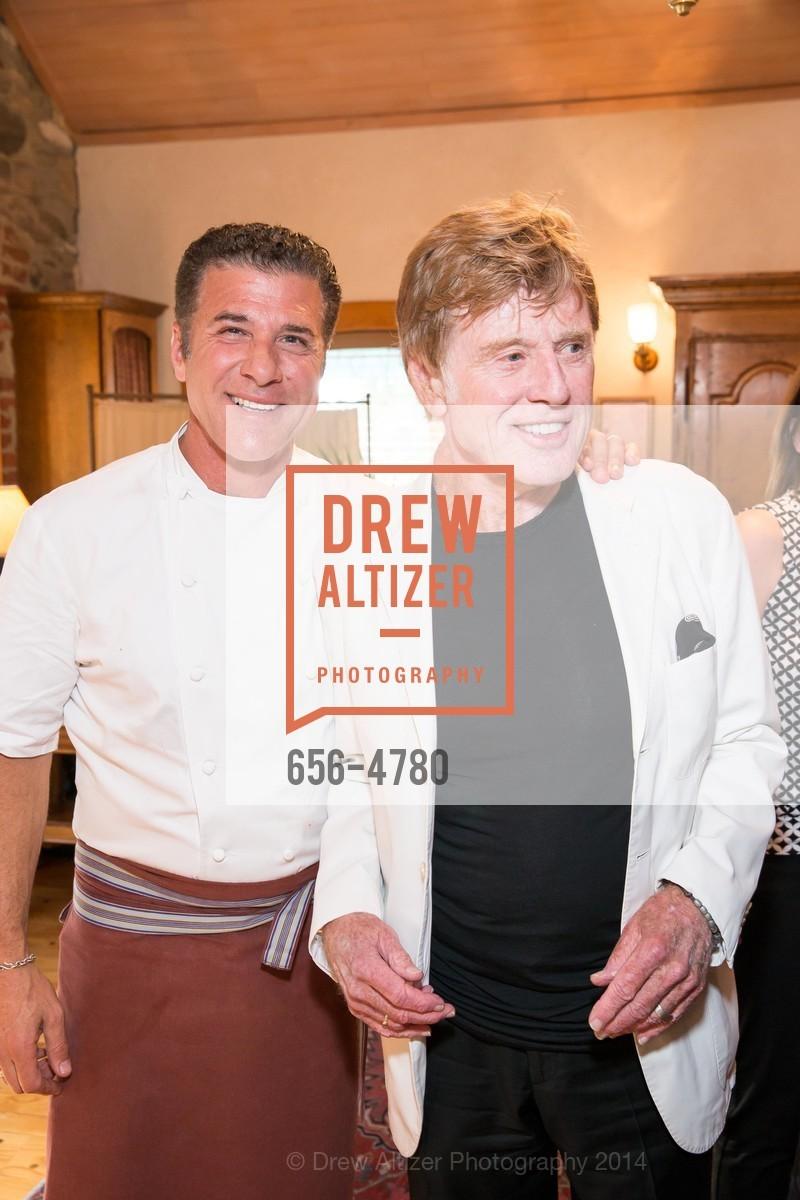 Chef Michael Chiarello, Robert Redford, Photo #656-4780