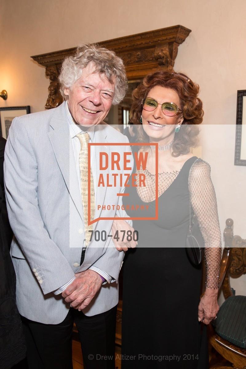 Gordon Getty, Sophia Loren, Photo #700-4780