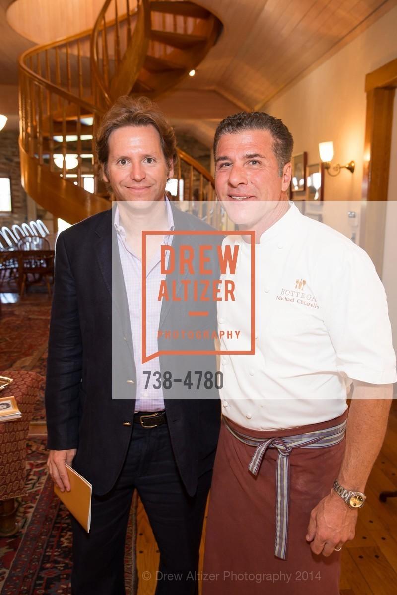 Trevor Traina, Chef Michael Chiarello, Photo #738-4780