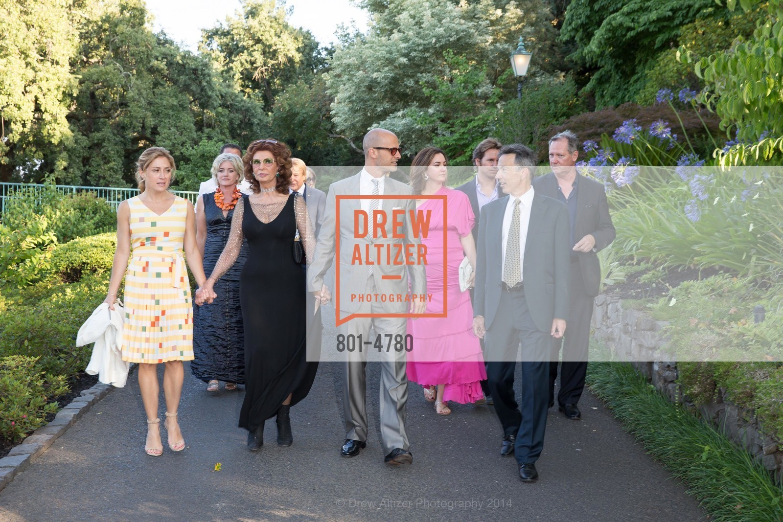 Sasha Alexander, Sophia Loren, Edoardo Ponti, Rick Walker, Photo #801-4780