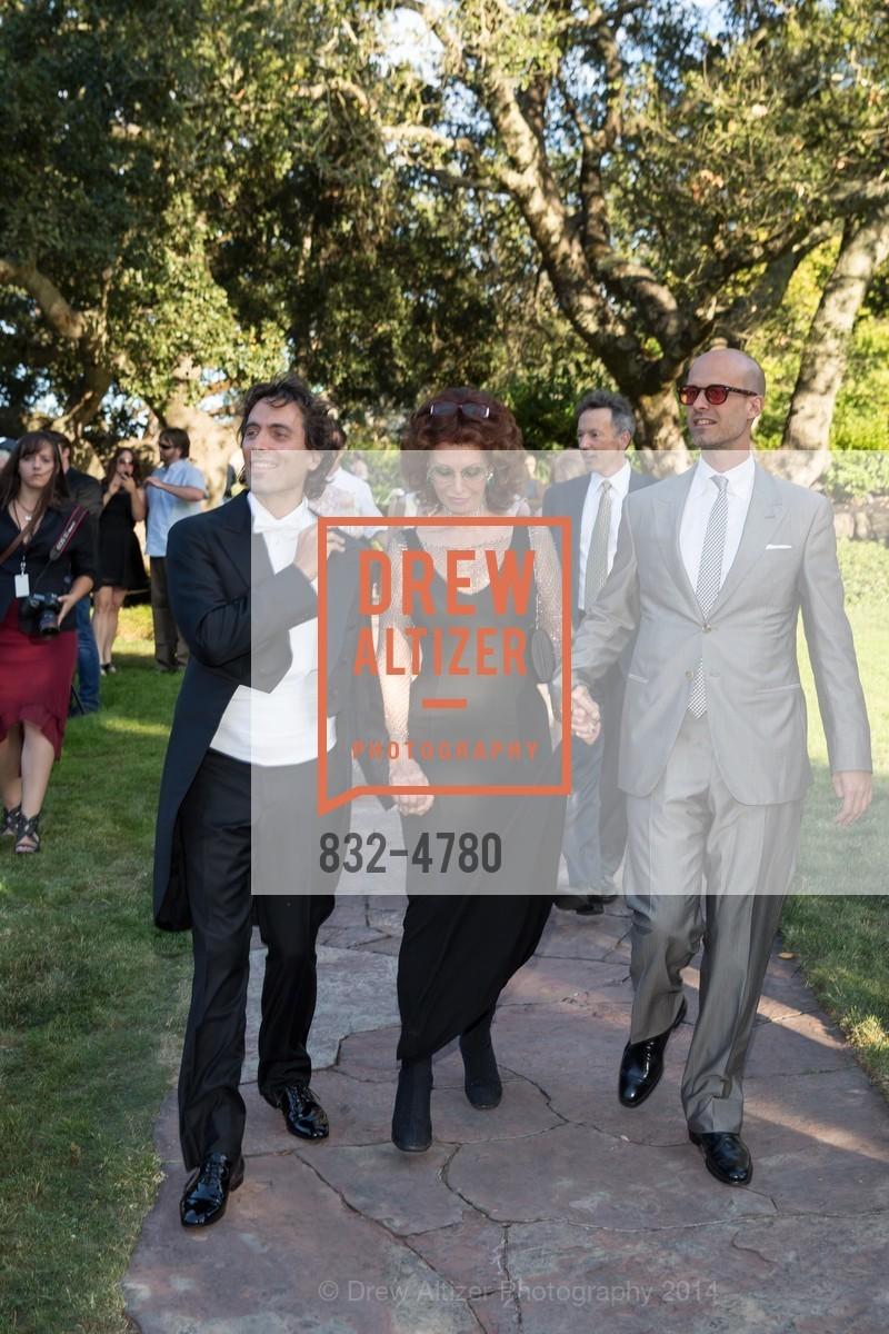 Carlo Ponti, Sophia Loren, Edoardo Ponti, Photo #832-4780