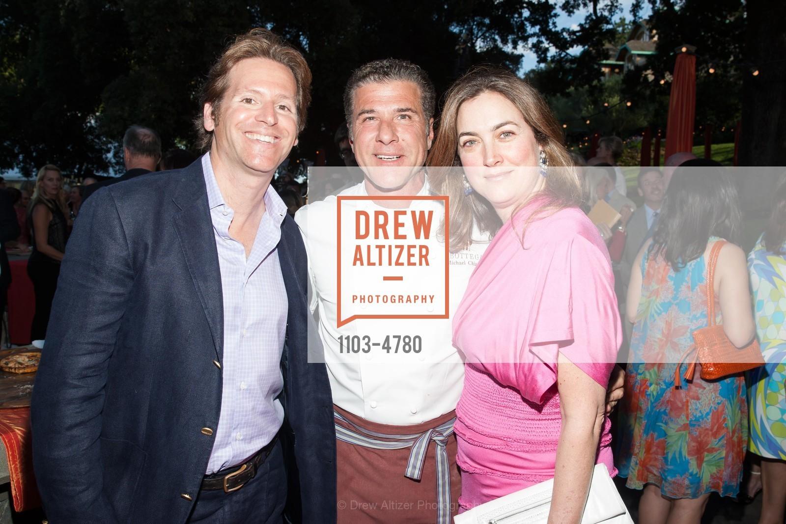 Trevor Traina, Chef Michael Chiarello, Alexis Traina, Photo #1103-4780
