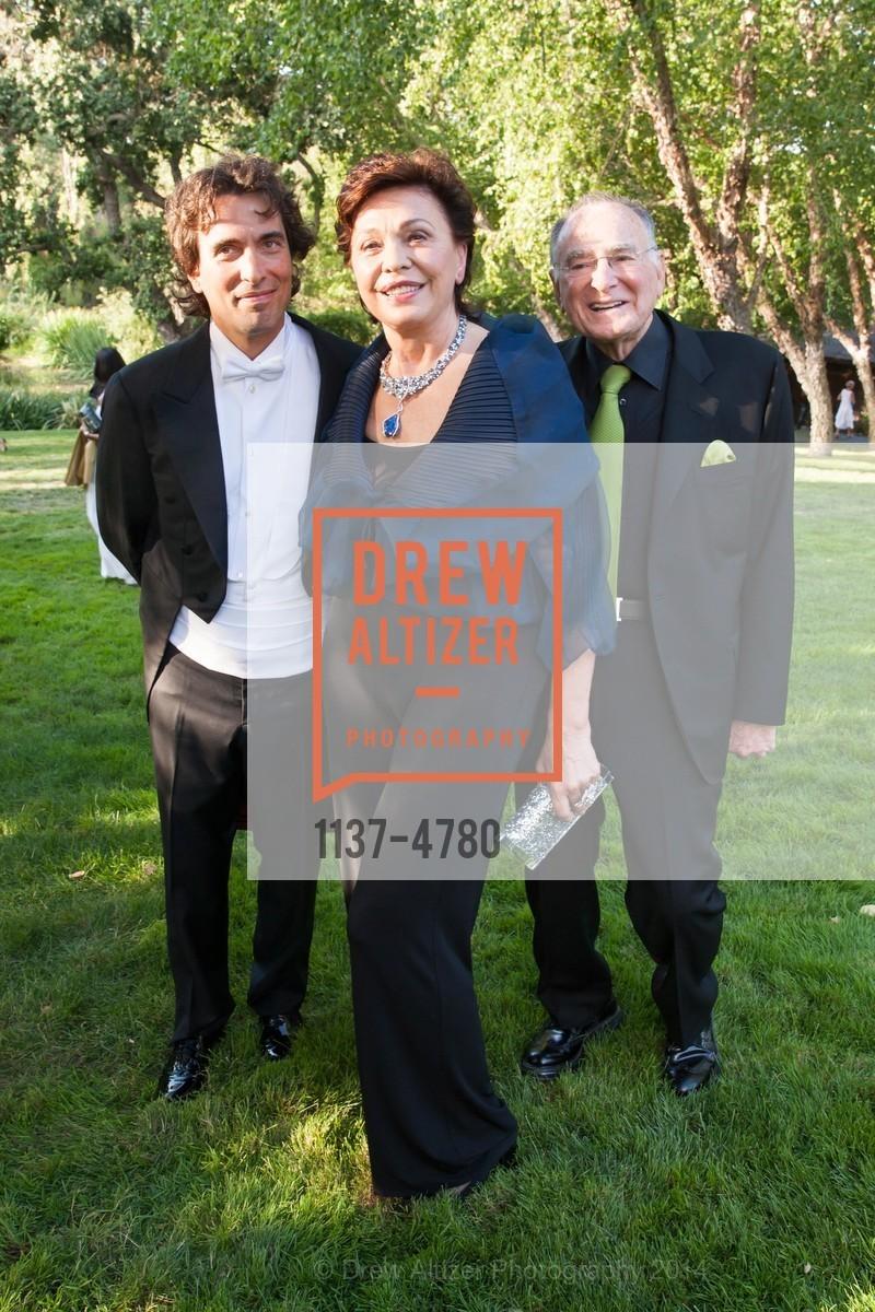Carlo Ponti, Maria Manetti Shrem, Jan Shrem, Photo #1137-4780
