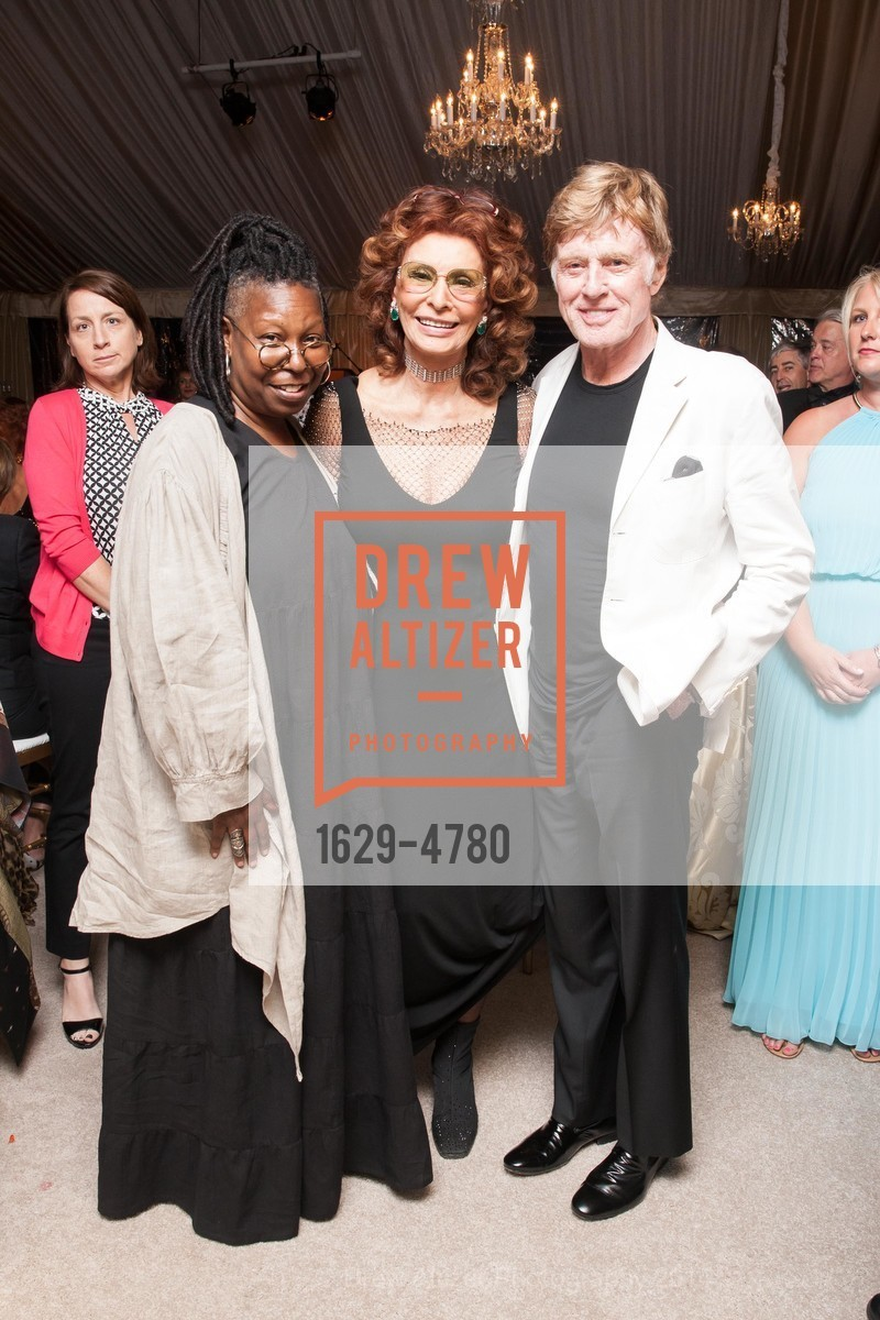 Whoopi Goldberg, Sophia Loren, Robert Redford, Photo #1629-4780