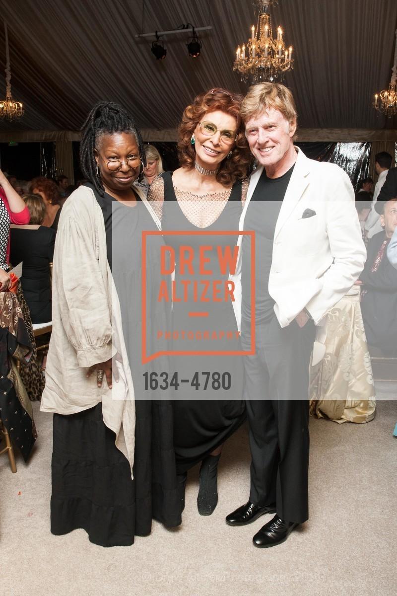 Whoopi Goldberg, Sophia Loren, Robert Redford, Photo #1634-4780