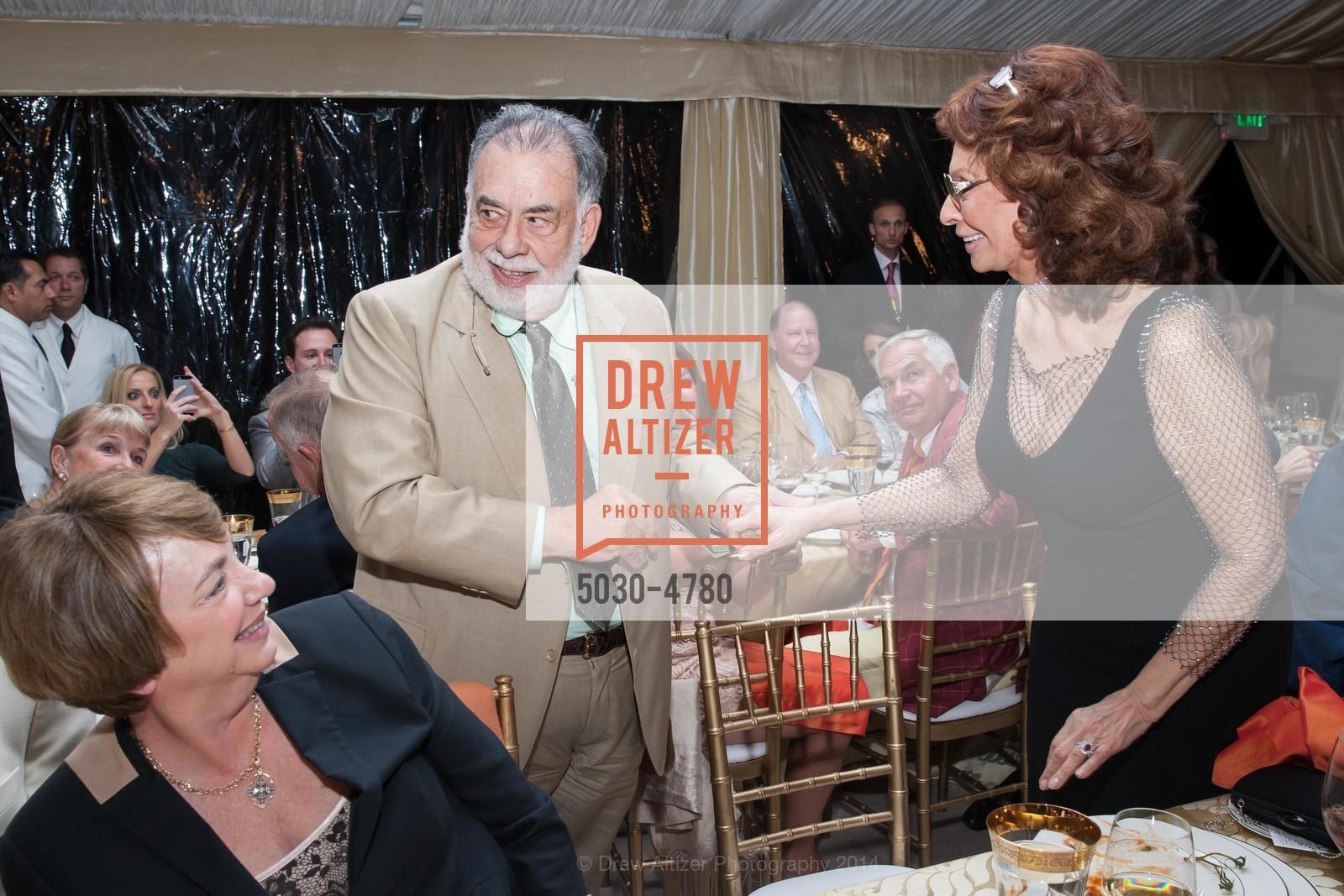 Francis Coppola, Sophia Loren, Photo #5030-4780