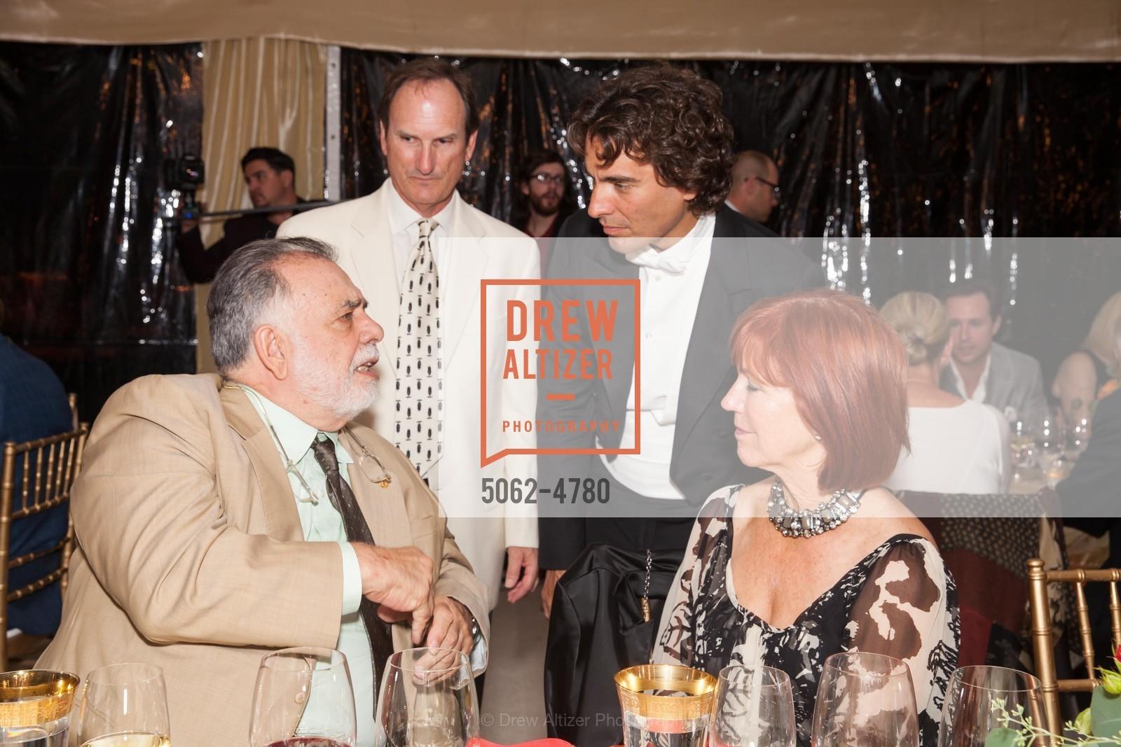 Francis Coppola, Larry Maguirre, Carlo Ponti, Karen Maguirre, Photo #5062-4780
