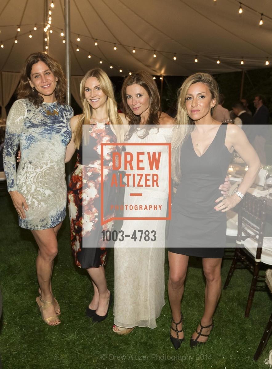 Elizabeth Welborn, Shelley Sinegal, Claudia Ross, Christine Lowndes, Photo #1003-4783