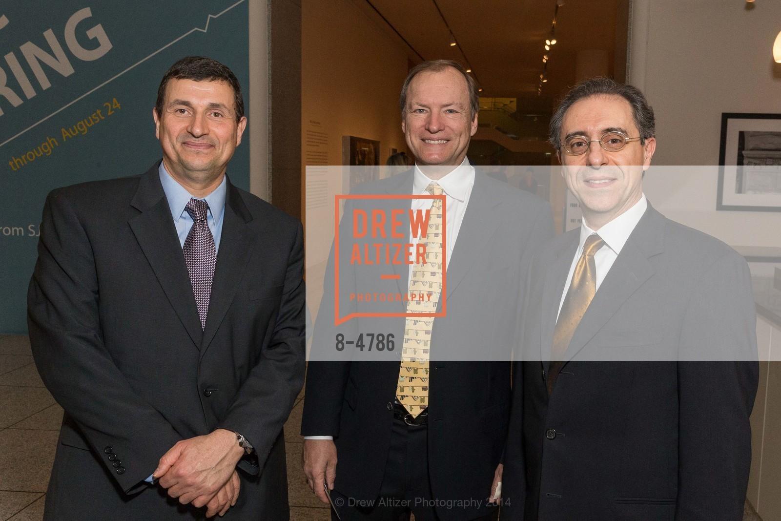 Roman Stehling, Al Smith, Kostas Grigorakis, Photo #8-4786