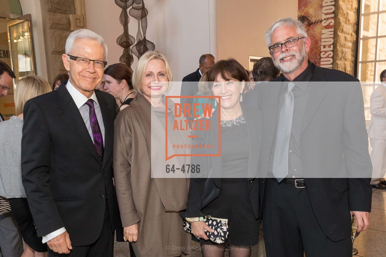 Wolfgang Hausen, Alexandra Hausen, Lorri Kershner, Larry Samuels, Photo #64-4786