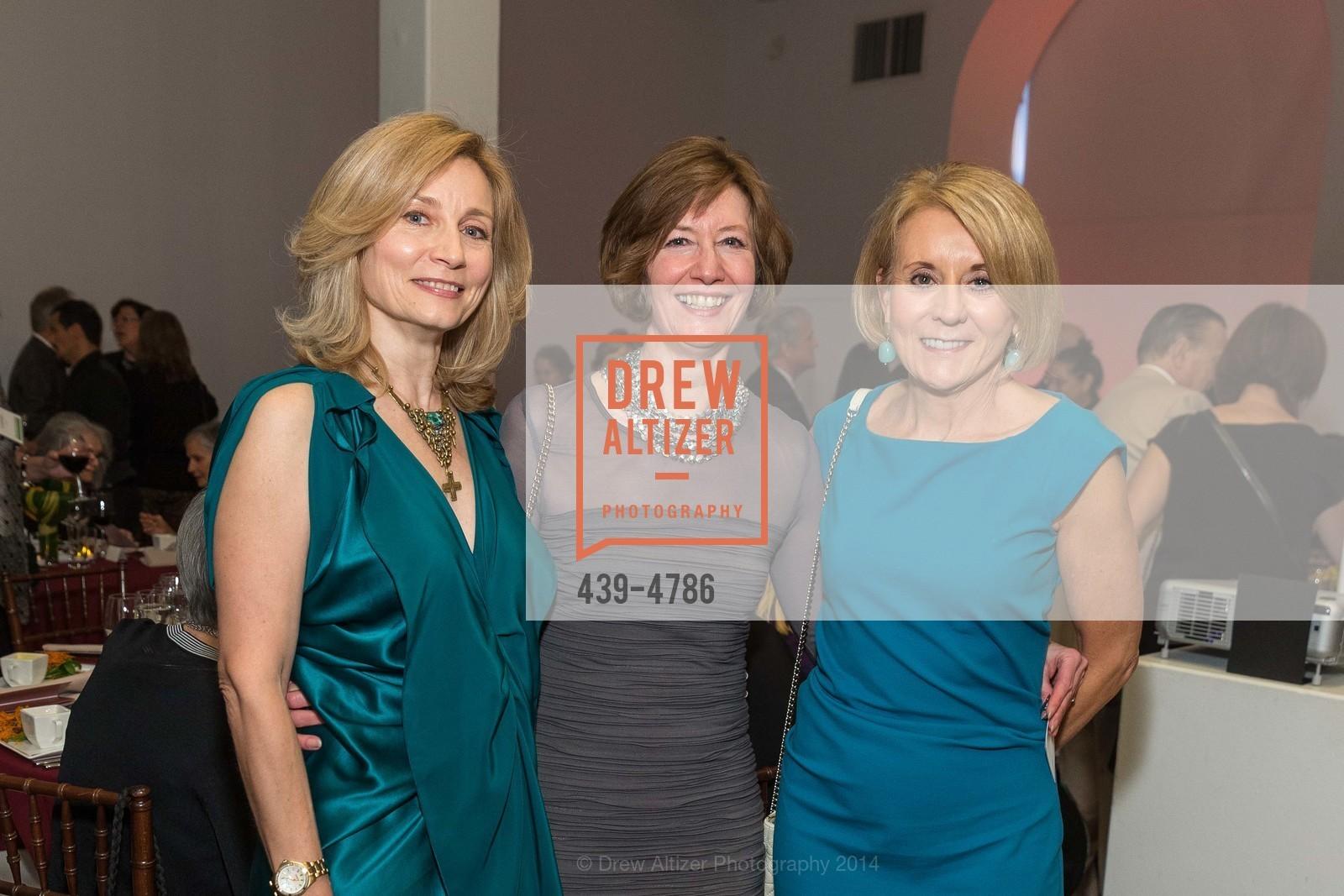 Elean Lebedeva, Yvonne Nevens, Mary Mocas, Photo #439-4786