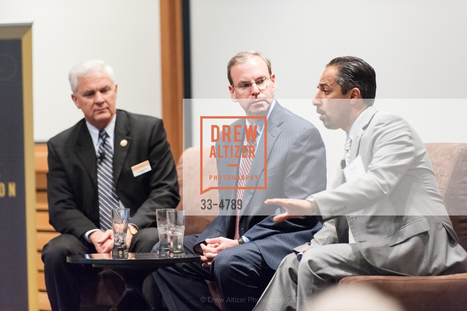 Joe Cirincione, Jeremy Ben-Ami, Trita Parsi, Photo #33-4789
