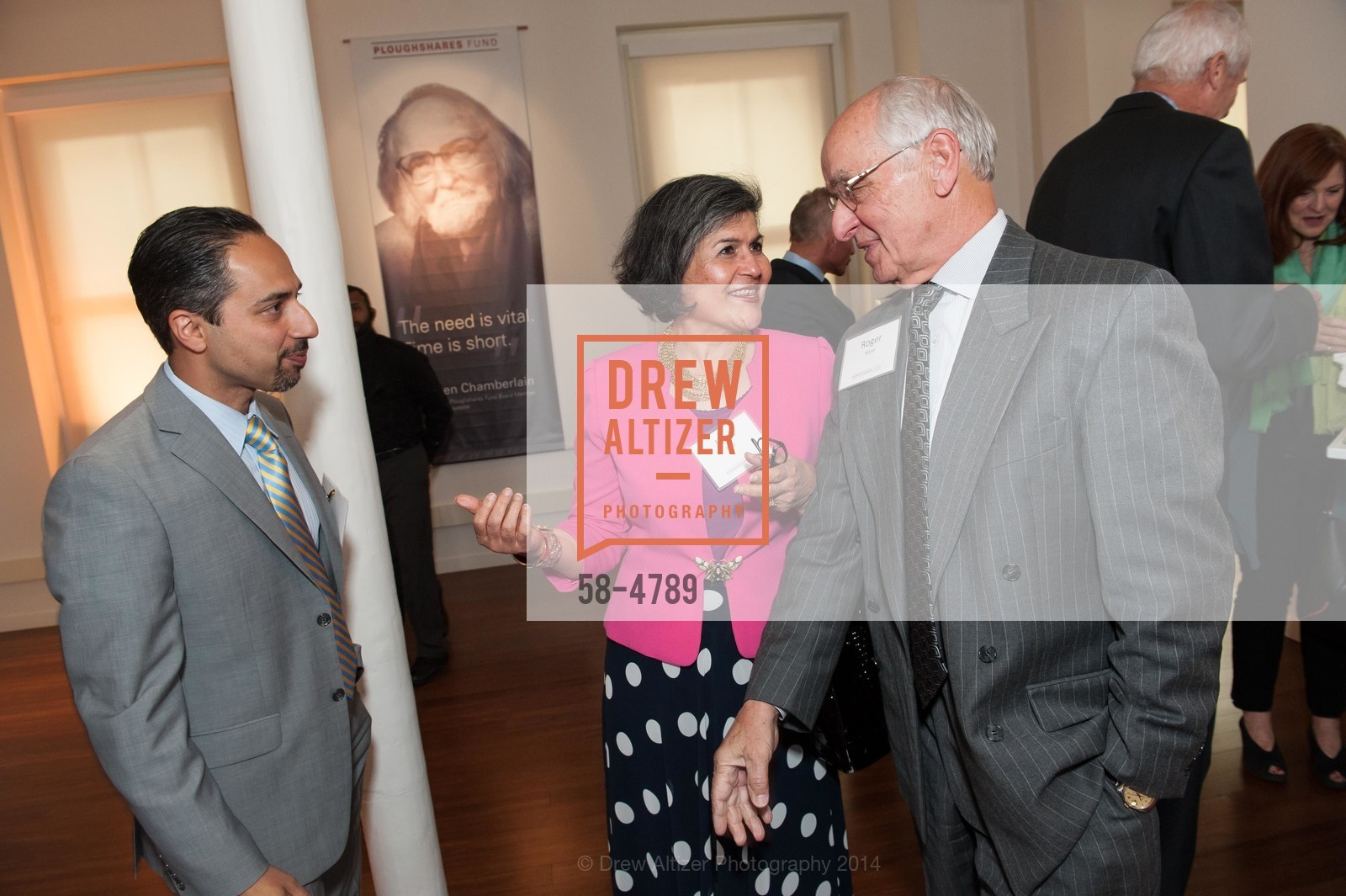 Trita Parsi, Jaleh Daie, Roger Wyse, Photo #58-4789