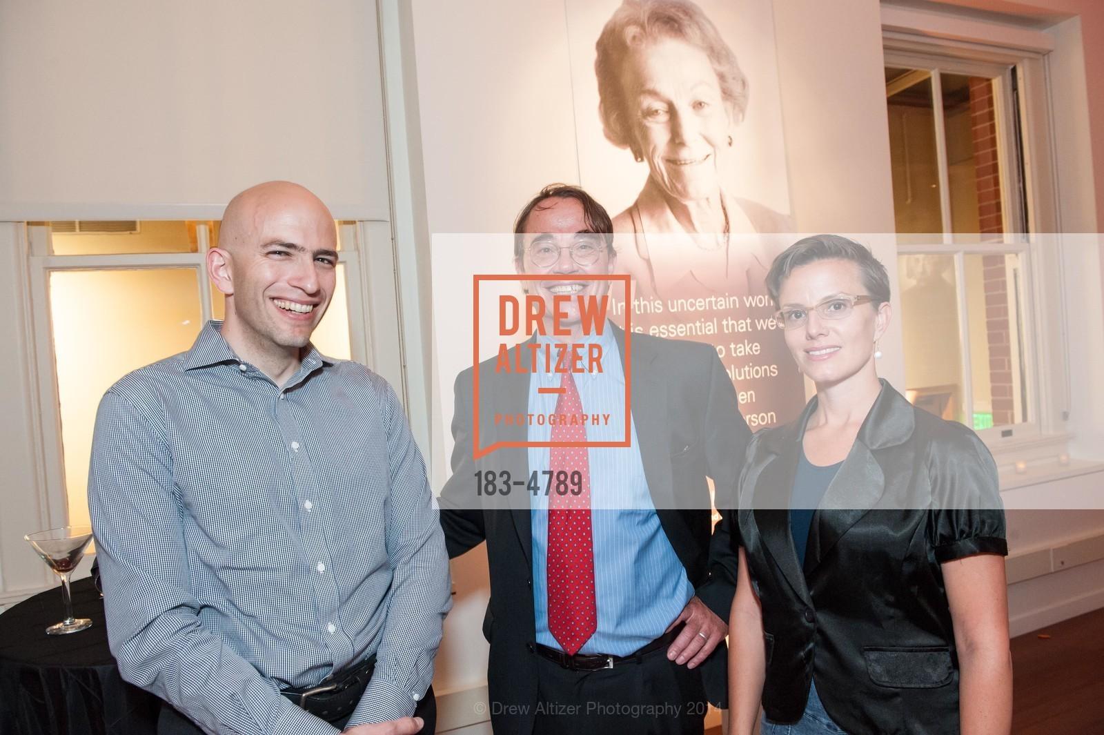 Rob Saliba, Peter Ferenbach, Sarah Shourd, Photo #183-4789