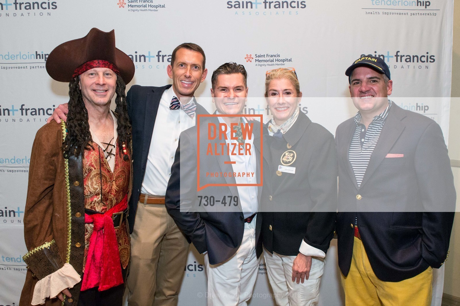 Rich Martini, Markham Miller, Chris Meza, Jan Koehler, Tim Graffigna, 7th Annual White Caps & Night Caps, Generals Residence - Fort Mason. 2525 Van Ness St, November 9th, 2015,Drew Altizer, Drew Altizer Photography, full-service agency, private events, San Francisco photographer, photographer california
