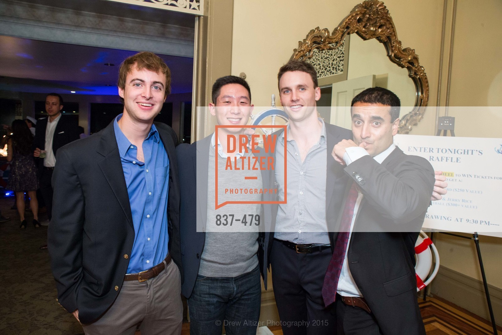 Sean Conley, Albert Koh, Andrew Breger, Tarun Kalra, 7th Annual White Caps & Night Caps, Generals Residence - Fort Mason. 2525 Van Ness St, November 9th, 2015,Drew Altizer, Drew Altizer Photography, full-service agency, private events, San Francisco photographer, photographer california