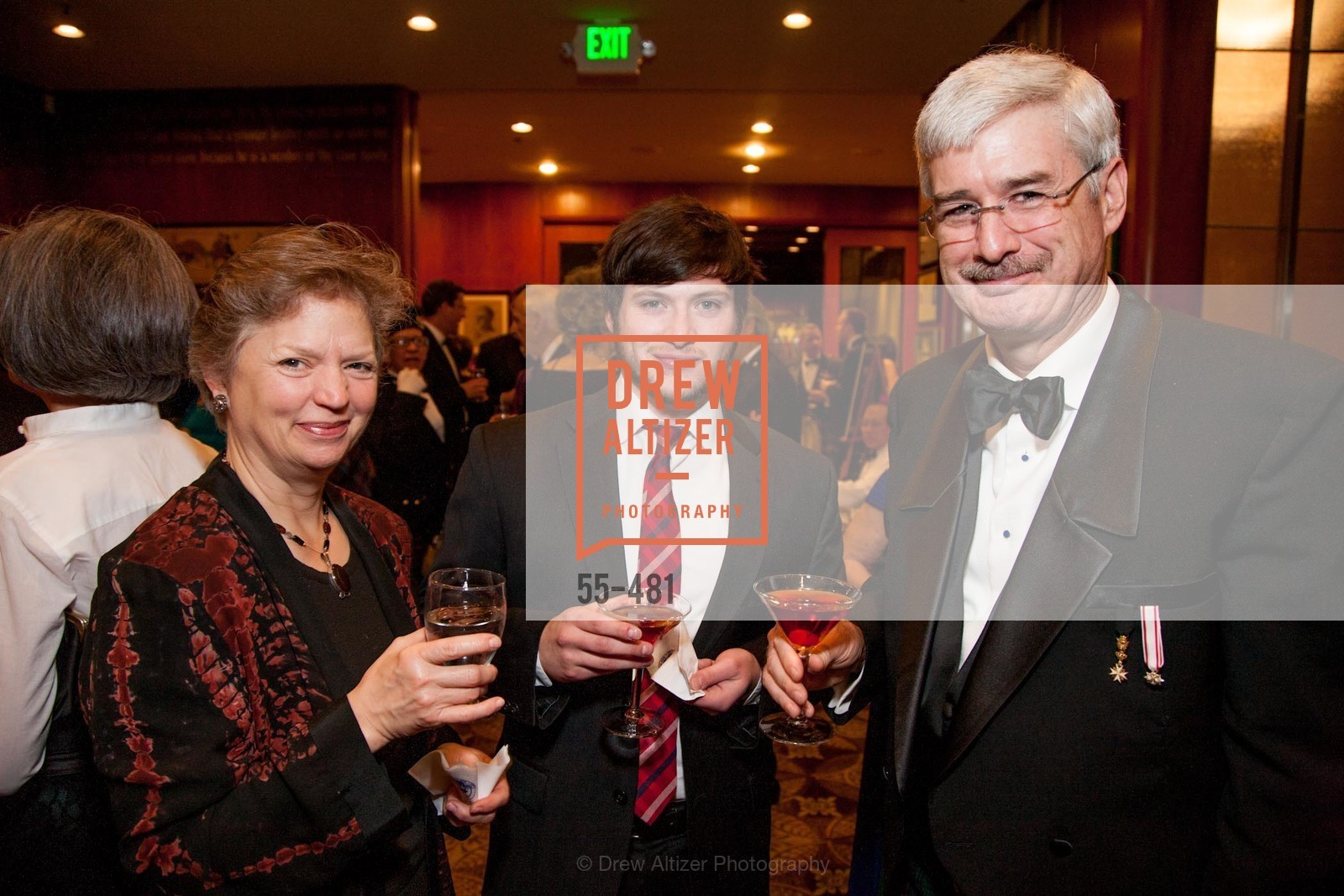 Jane Hughan, Stephen Dutro, Wade Hughan, ST. ANDREW'S SOCIETY OF SAN FRANCISCO'S Traditional Burns Night Supper 2014, US. US, January 25th, 2014,Drew Altizer, Drew Altizer Photography, full-service agency, private events, San Francisco photographer, photographer california