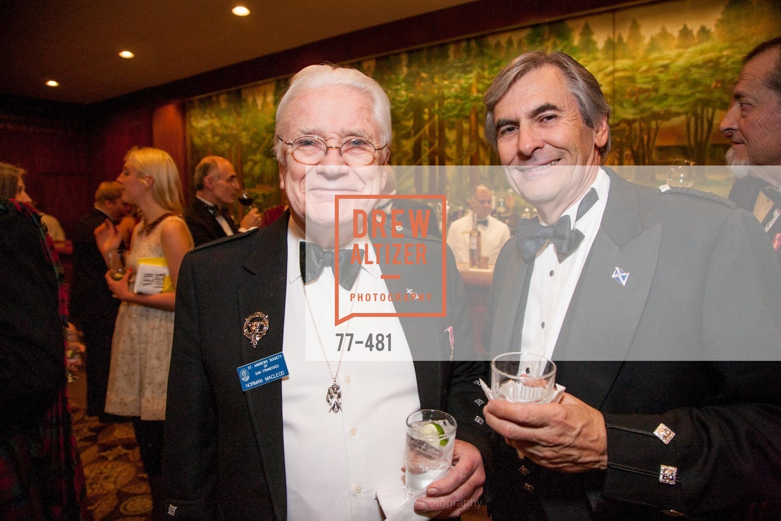 Norman MacLeod, John McCorkindale, ST. ANDREW'S SOCIETY OF SAN FRANCISCO'S Traditional Burns Night Supper 2014, US. US, January 25th, 2014,Drew Altizer, Drew Altizer Photography, full-service agency, private events, San Francisco photographer, photographer california