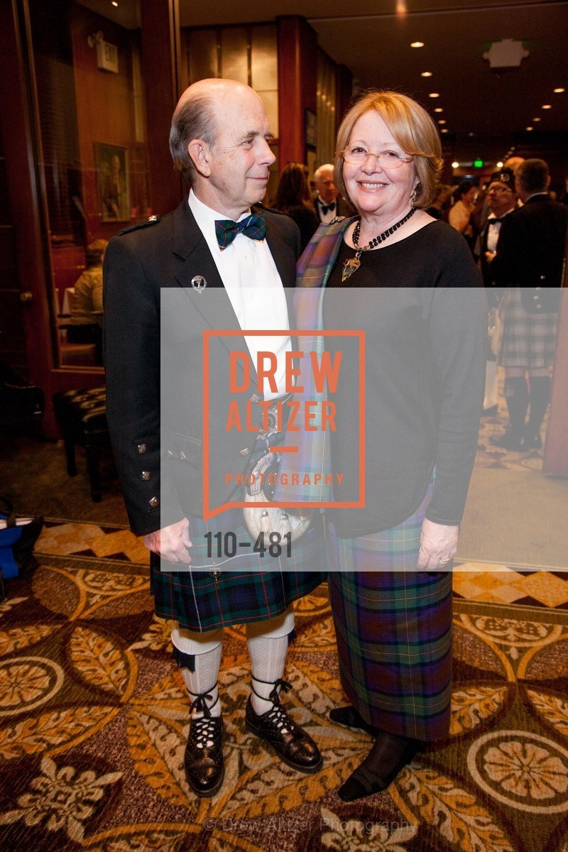 Bill McKown, Brenda McKown, ST. ANDREW'S SOCIETY OF SAN FRANCISCO'S Traditional Burns Night Supper 2014, US. US, January 25th, 2014,Drew Altizer, Drew Altizer Photography, full-service event agency, private events, San Francisco photographer, photographer California