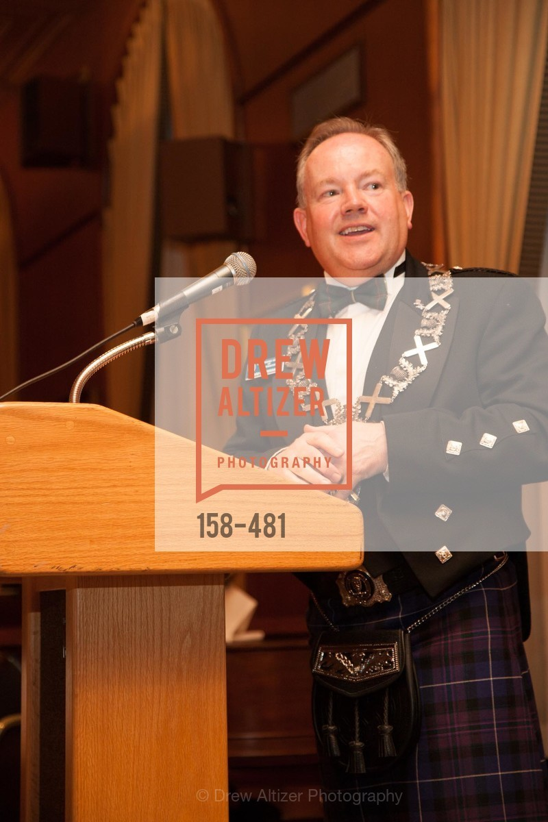 David McCrossan, ST. ANDREW'S SOCIETY OF SAN FRANCISCO'S Traditional Burns Night Supper 2014, US. US, January 25th, 2014