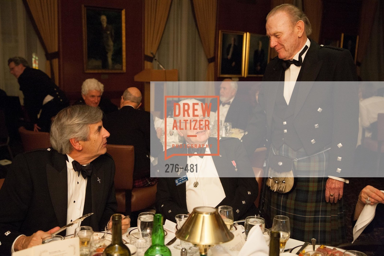 John McCorkindale, Norman MacLeod, James Robertson, ST. ANDREW'S SOCIETY OF SAN FRANCISCO'S Traditional Burns Night Supper 2014, US. US, January 25th, 2014,Drew Altizer, Drew Altizer Photography, full-service agency, private events, San Francisco photographer, photographer california