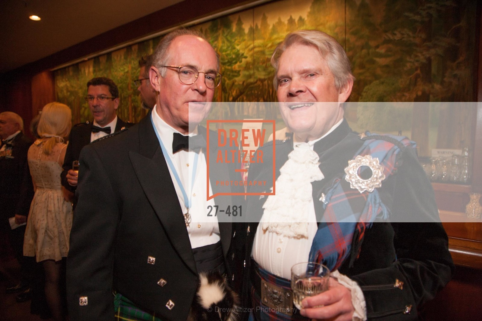 Bruce McMillan, Selby Haussermann, ST. ANDREW'S SOCIETY OF SAN FRANCISCO'S Traditional Burns Night Supper 2014, US. US, January 25th, 2014,Drew Altizer, Drew Altizer Photography, full-service agency, private events, San Francisco photographer, photographer california