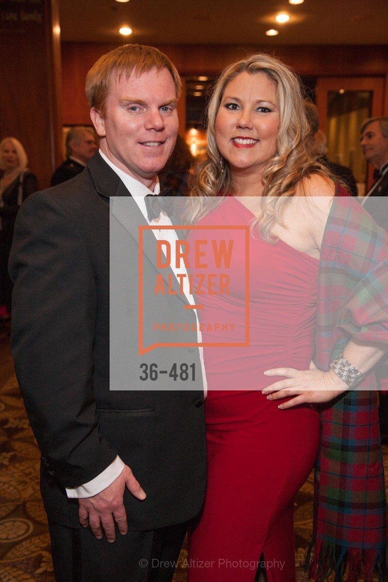 Russell Hattig, Lisa McCracken, ST. ANDREW'S SOCIETY OF SAN FRANCISCO'S Traditional Burns Night Supper 2014, US. US, January 25th, 2014,Drew Altizer, Drew Altizer Photography, full-service agency, private events, San Francisco photographer, photographer california