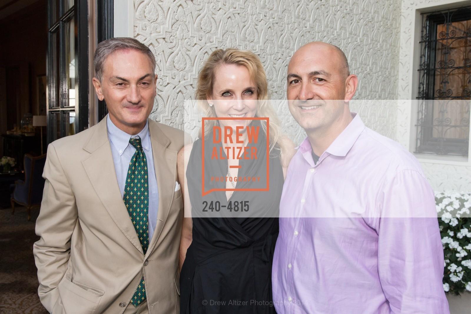 Christopher Zuber, Elizabeth Mitchell, Alfonso Veggetti, Photo #240-4815
