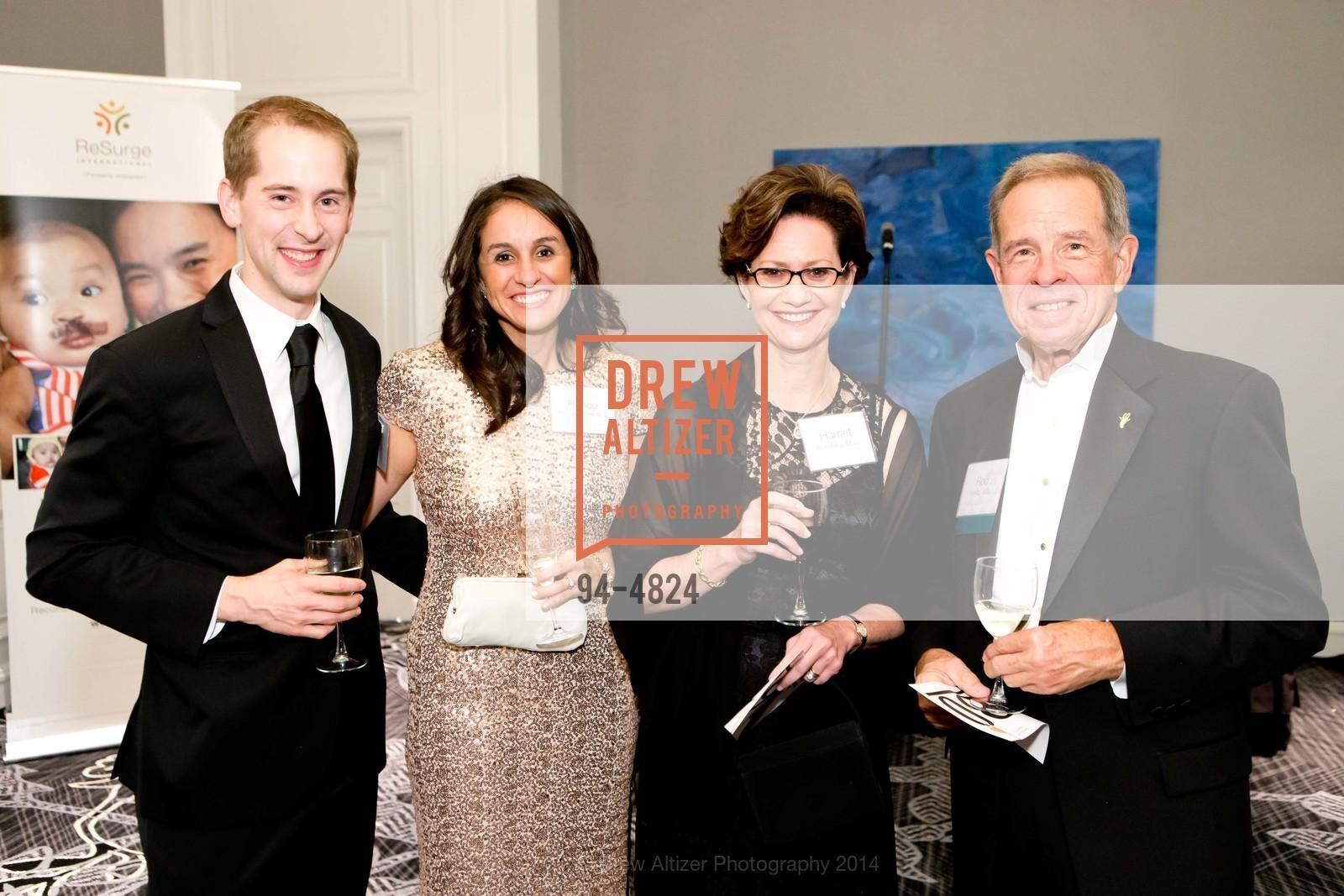 John Paro, Renee Rodriguez Paro, Harriet Borofsky, Rod Hentz, Photo #94-4824