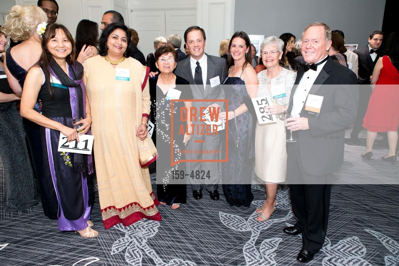 Lan Sherlock, NIsha Chaudry, Kim Satterlee, Ted Fuller, Kathy Lingenfelter, Anne Fuller, Russell Fuller, Photo #159-4824