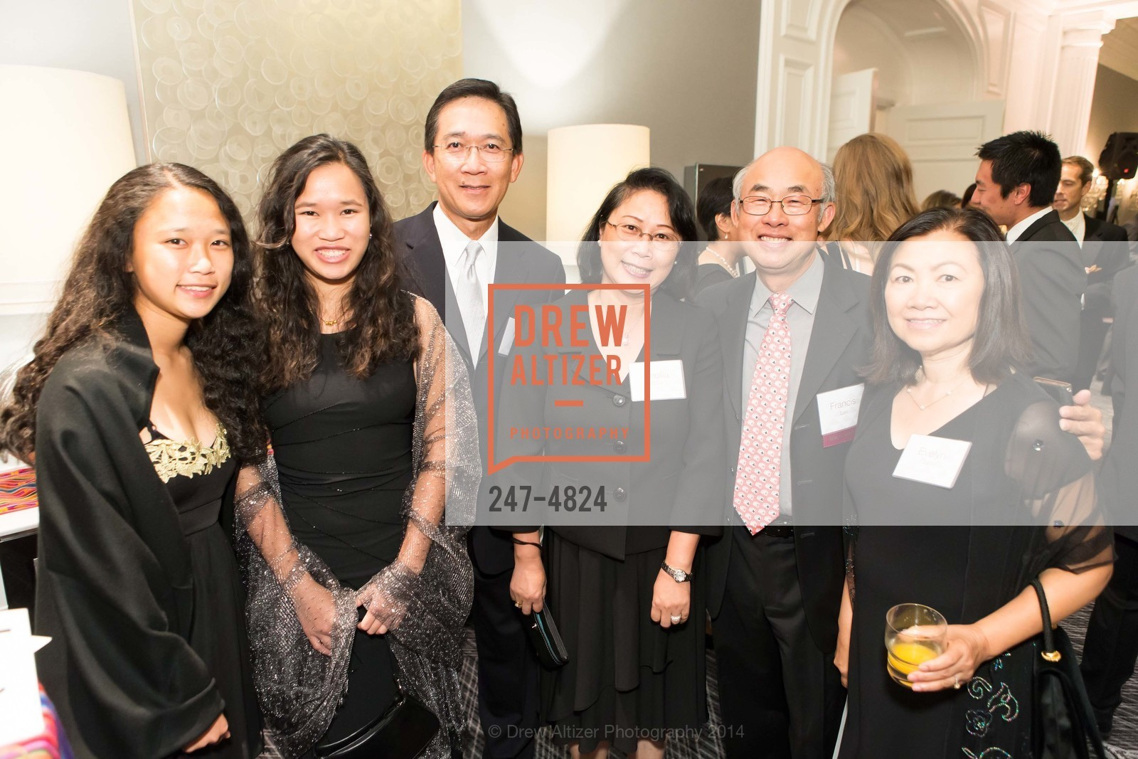 Karly Chin, Kerry Chin, Keith Chin, Cecilia Chin, Francis Lee, Evelyn Lee, Photo #247-4824