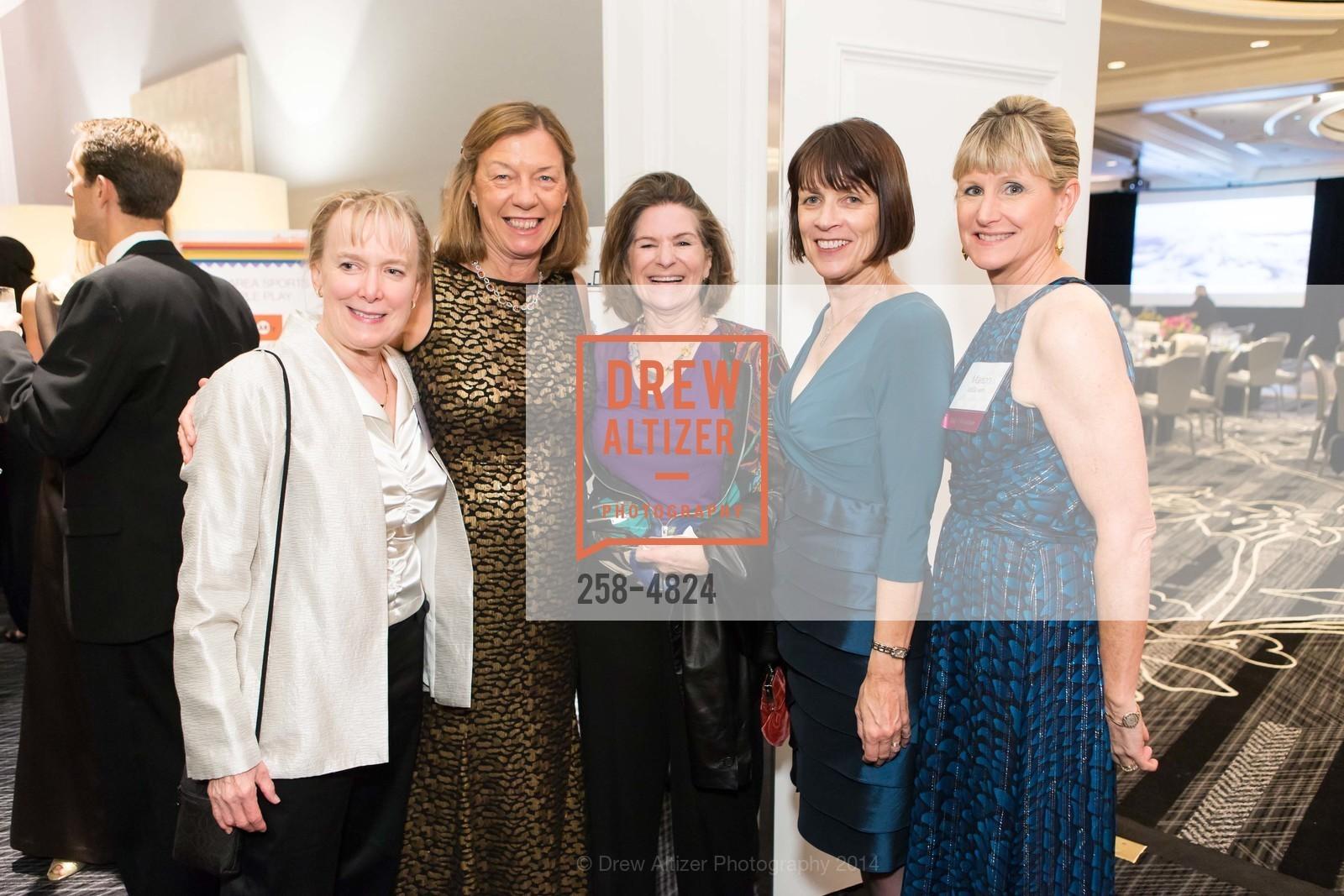 Charlotte Read, Terry Dorey, Nonie Devens, Chris Bliss, Marion McGovern, Photo #258-4824