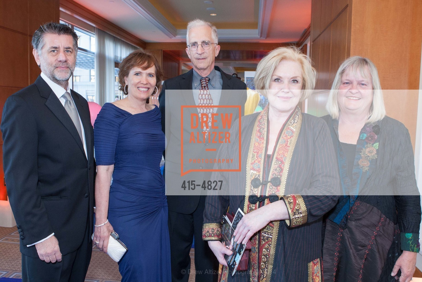 Colin Watson, Janee Pennington-Watson, David Goldsmith, Gayle Enright, Diane Goldsmith, Photo #415-4827