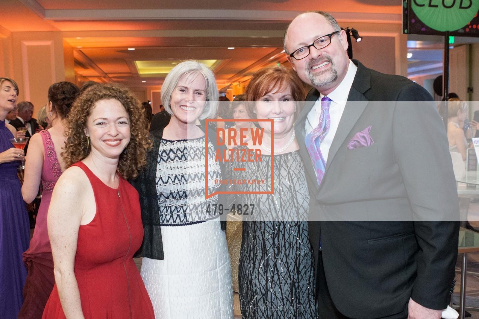 Susie Falk, Jeannie Simpson, Maureen Knight, Jonathan Moscne, Photo #479-4827