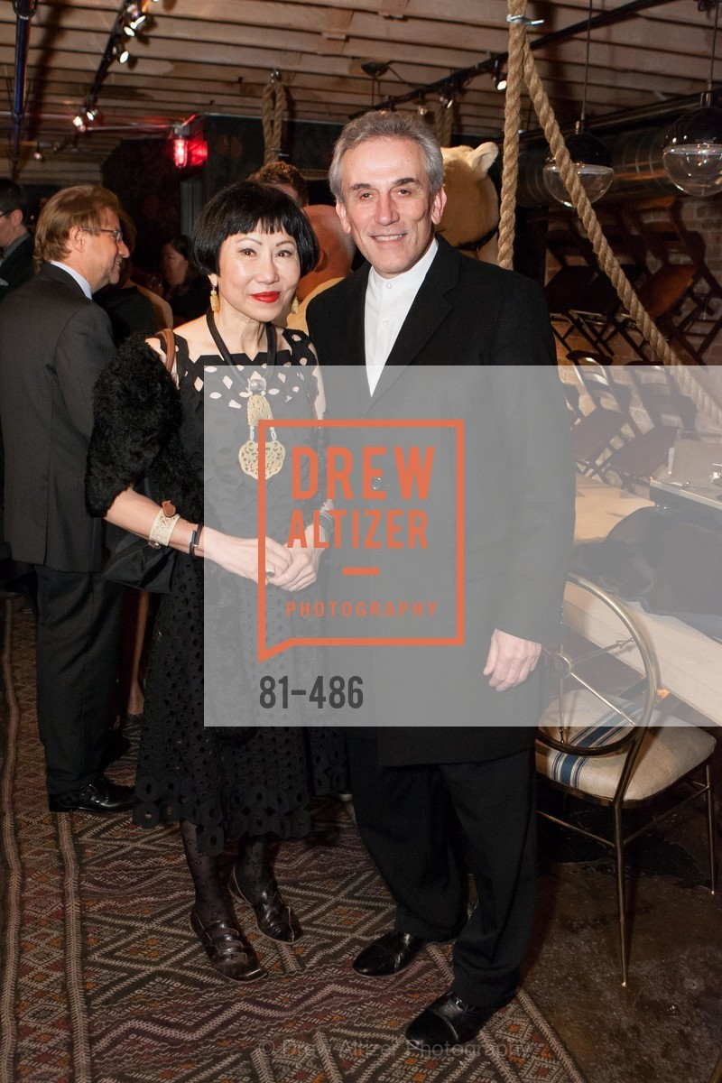 Amy Tan, Lou DeMattei, KEN FULK Presents All Fools Day, US. US, April 1st, 2014,Drew Altizer, Drew Altizer Photography, full-service event agency, private events, San Francisco photographer, photographer California