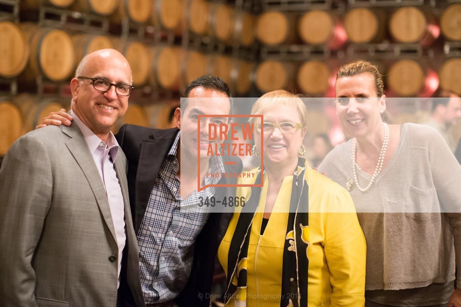 Ken Monnens, Greg Lopez, Lidia Bastianich, Gina Gallo Boisset, Photo #349-4866