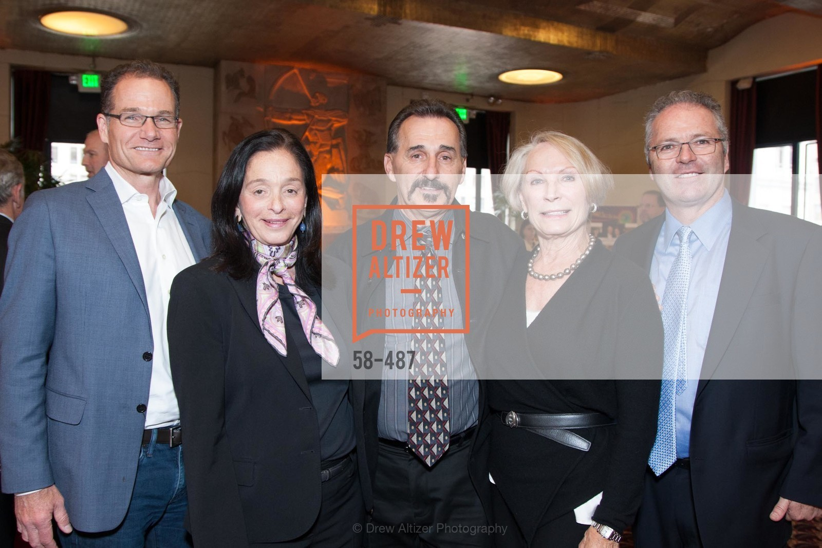 Bruce Armstrong, Ellen Chaitin, Wayne Garcia, Millicent Buxton-Smith, Andrew Clark, Campaign Launch - David E. Smith, MD Medical Clinic, US. US, April 1st, 2014,Drew Altizer, Drew Altizer Photography, full-service agency, private events, San Francisco photographer, photographer california