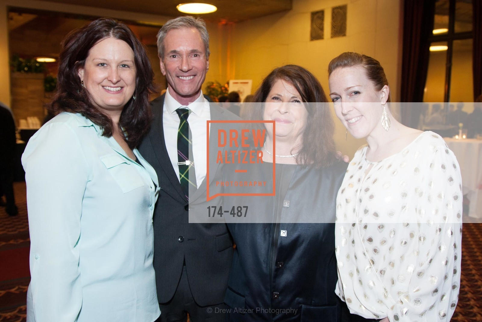 Michelle Hudson, Jeff Schindler, Kathryn Holmes, Britt Miazgowicz, Campaign Launch - David E. Smith, MD Medical Clinic, US. US, April 1st, 2014