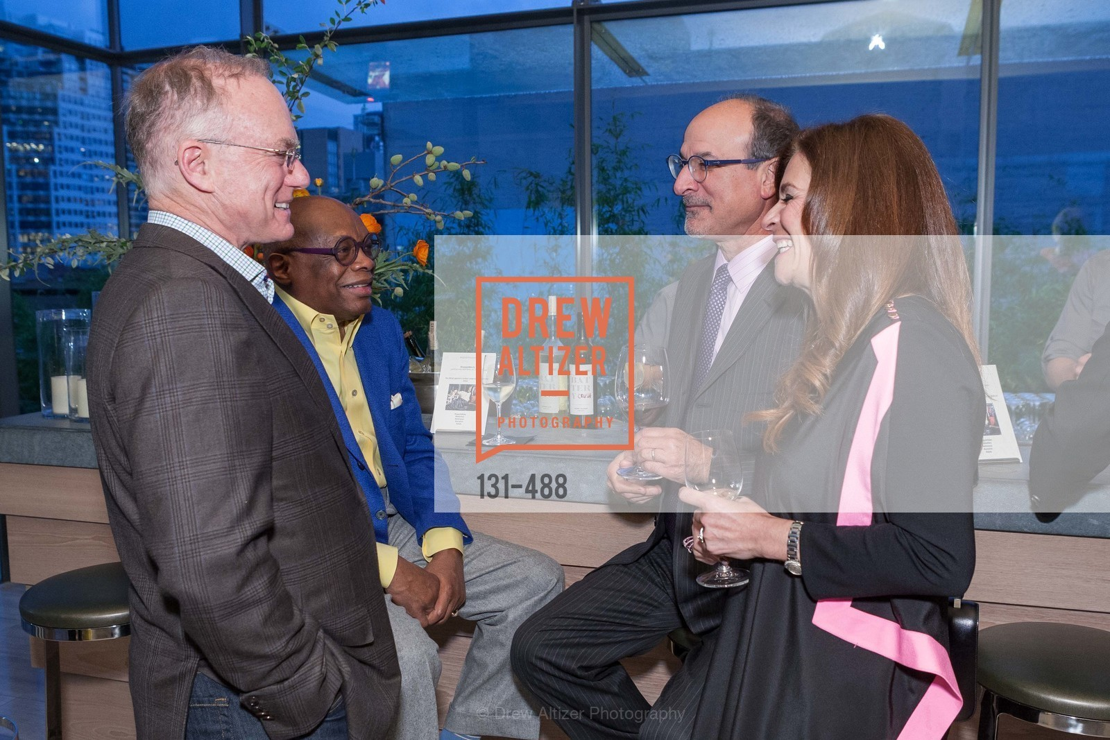 Don DuBain, Willie Brown, Victor Makras, Farah Makras, SONYA MOLODETSKAYA's Birthday Party, US. The Battery Penthouse, April 1st, 2014,Drew Altizer, Drew Altizer Photography, full-service agency, private events, San Francisco photographer, photographer california